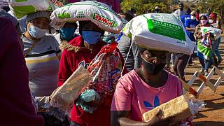 COVID-19 support: feeding locals in South Africa 'gangland'