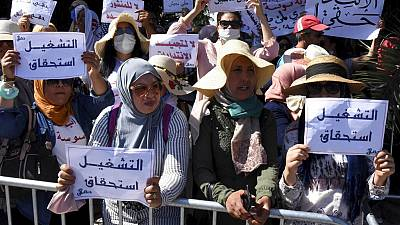 Tunisia health workers demand reforms amid virus fight