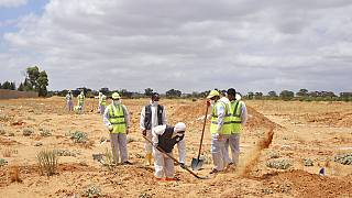 Libya exhuming mass graves in western city, Tarhuna