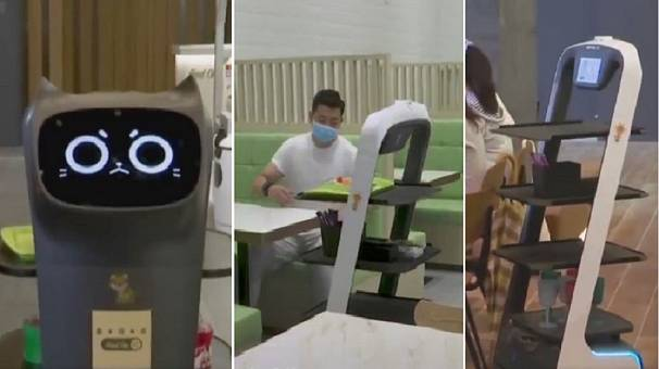 'Food On': Hong Kong eatery with robots cooking, serving, delivering