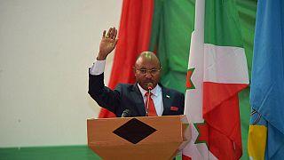 Burundi president swears in new Prime Minister