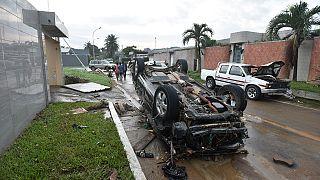 Côte d'Ivoire : trois morts dans des inondations à Abidjan