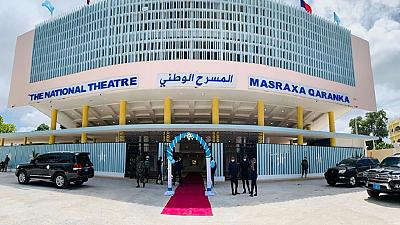 'Lights up': Somalia's refurbished national theater reopens in Mogadishu