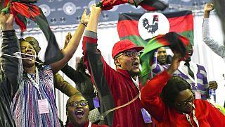 Malawi : célébration de la victoire de l'opposant Lazarus Chakwer