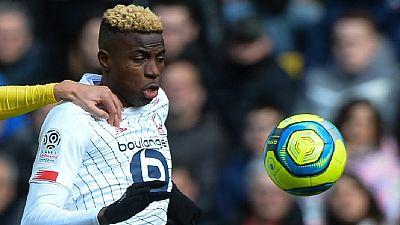 Football - Ligue 1: le Nigérian Osimhen vainqueur du Prix Marc-Vivien Foé
