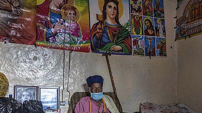 Photos: 114-year-old Ethiopian monk survives coronavirus