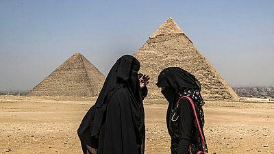 Egypt reopens Giza pyramids amid pandemic