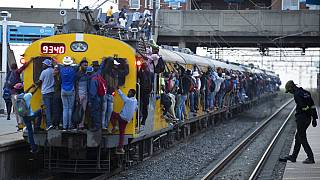 South Africa trains resume amid strict virus control protocols