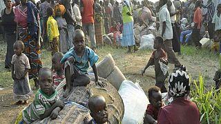 Des réfugiés congolais arrivent en Ouganda