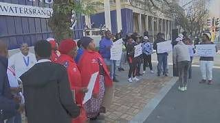S. Africa: protest against Africa's first vaccine trial