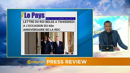 Belgian King's letter of apology to Congo [PRESS REVIEW]