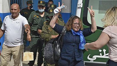 Algeria releases four protest leaders