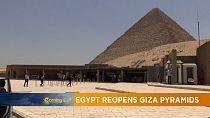 Réouverture des pyramides de Gizeh [Grand Angle]