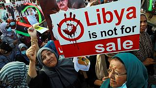 Protesters in Libya pile pressure against Turkish ''interference''