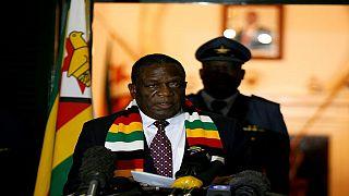 Zimbabwe : le président Mnangagwa pleure la mère de son opposant