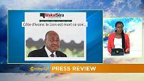La mort d'AGC en Côte d'Ivoire remet les cartes à l'endroit [Revue de presse]