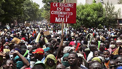 Mali protesters 'take over' public broadcaster, attack parliament