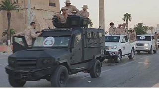 Libye : des milices fidèles au Gouvernement d'union nationale défilent à tripoli