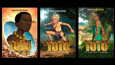 Tutu: historical animation film about Ghana's Ashanti kingdom