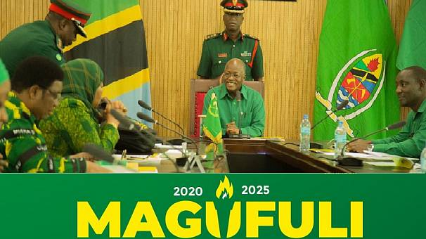 Tanzania president endorsed for re-election, rejects third term idea again