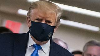 USA : Donald Trump en public avec un masque