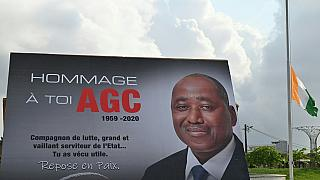 Ivorians pay tribute to PM who died last week