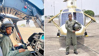 Nigeria: décès de la première femme pilote d'hélicoptère de combat