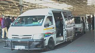 Public transport commuters in South Africa raise safety concerns