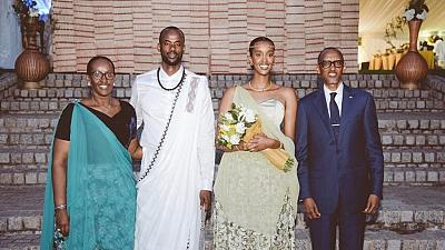 Rwanda's Kagame celebrates officially becoming a grandparent
