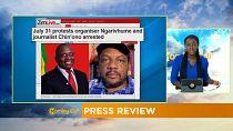 Zimbabwe : un célèbre journaliste mis aux arrêts [Revue de presse]
