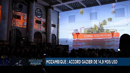 Mozambique : accord gazier de 14,9 mds usd [Business Africa]