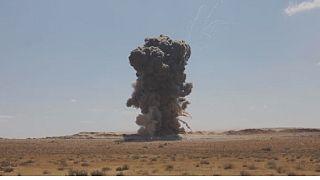 Libye : explosion des restes explosifs de guerre