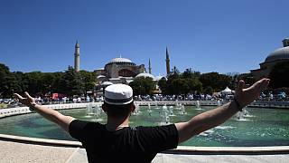 Turkey's Hagia Sophia reopens for first Muslim Friday prayers in 86 years