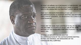Attaque d'un village en RDC : l'indignation du docteur Mukwege