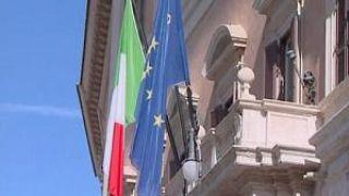 İtalya'da kemer sıkma protestosu