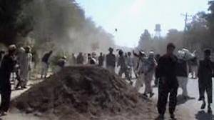 """Rogue"" Afghan policeman shot after killing 3"