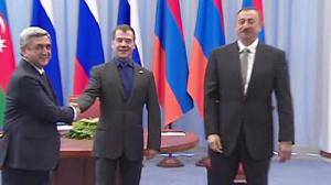 Medvedev hopeful over Nagorno-Karabakh