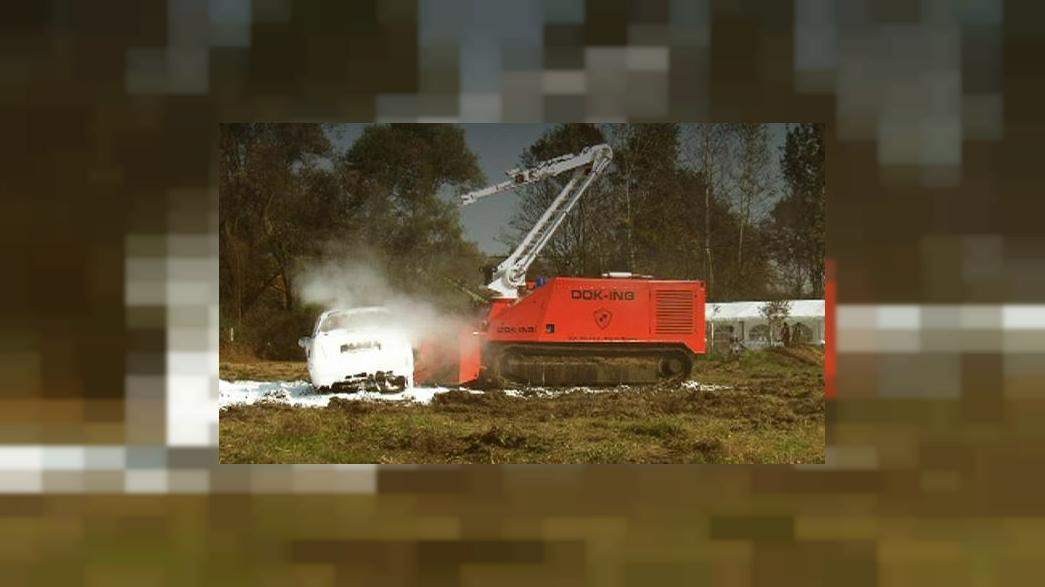 The robot firefighter