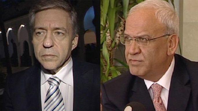 Saeb Erekat et Yossi Beilin donnent leur sentiment sur le blocage israélo-palestinien