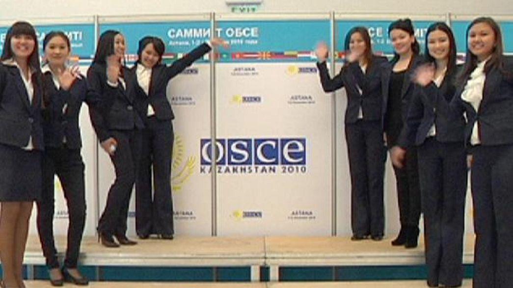 Cazaquistão recebe cimeira da OSCE