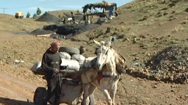As minas da morte em Marrocos