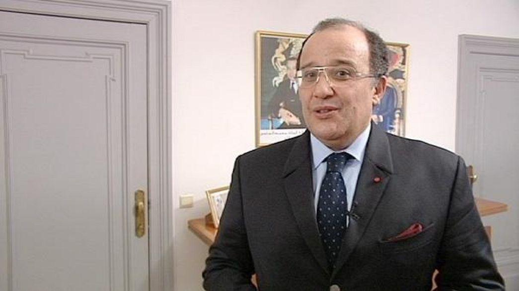 MNE marroquino defende acções no Sahara Ocidental
