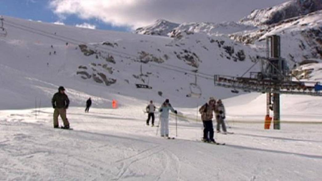 تحقيق التنمية المستدامة في منتجعات التزلج على الجليد