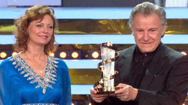 قدردانی از هاروی کیتل در جشنواره فیلم مراکش