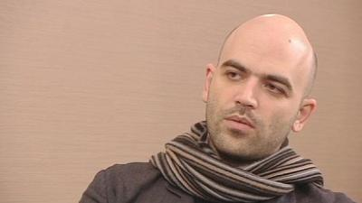 "Saviano: ""The Mafia boosted Eastern Europe's economy."""