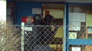 Police make moves in French nursery school siege