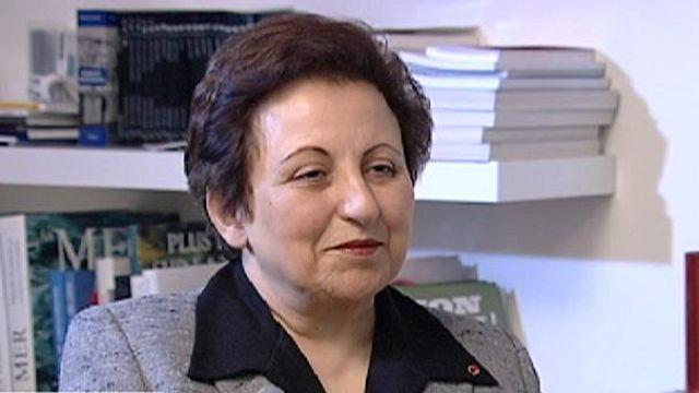 Ebadi: Batı, nükleer meselesi yüzünden insan hakları ihlallerini atlıyor
