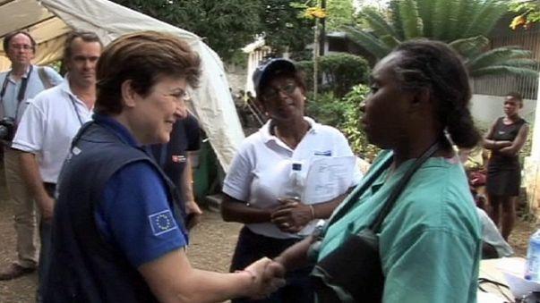 Haiti'de depremin yıldönümü