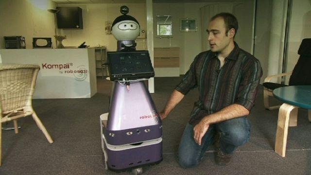 Meet Kompai, your robot friend