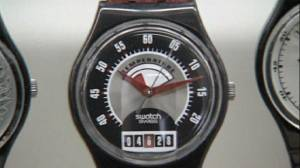 Time is right for Swatch sales